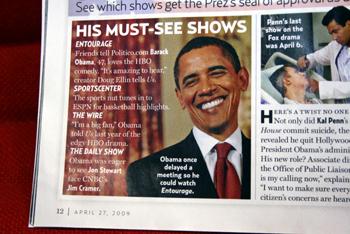 オバマが好きなテレビとは?
