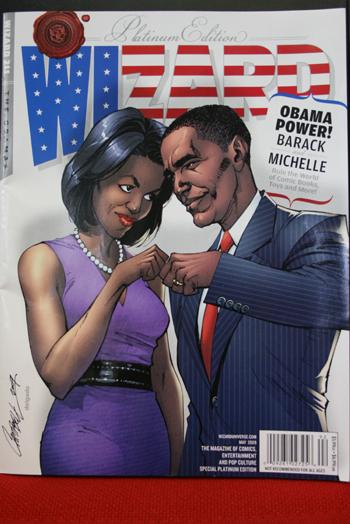 WIZARDの表紙:オバマ大統領とミシェル夫人