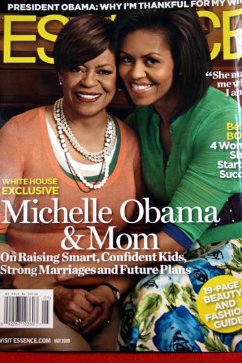 ミシェル夫人とママ