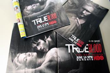 『True Blood』雑誌広告